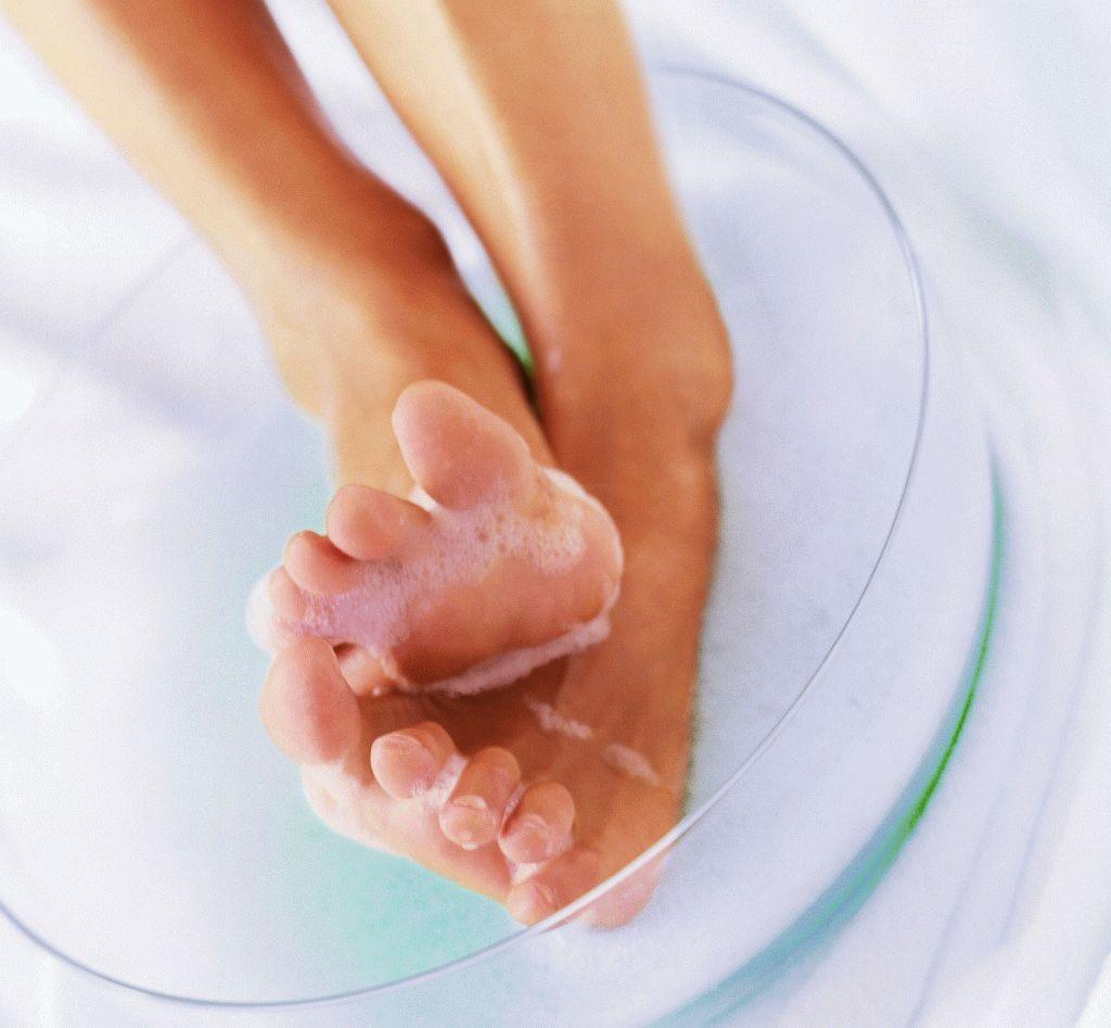 Лечение грибка стопы ванночки