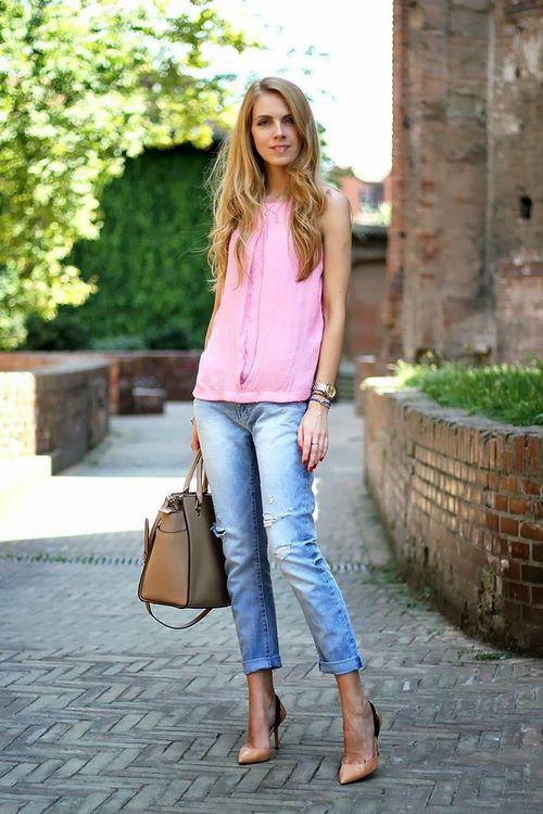 cafce1f82e22dc Sommergarderobe - keine Ausnahme, so schöne weiße und bunte Jeans, sowie  Jeans aus Denim in traditionellen Blautönen werden die ...