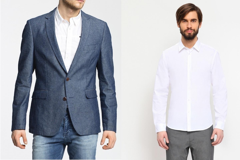 dc727184481 С какой рубашкой сочетается серый костюм. Рубашки под костюм есть в ...