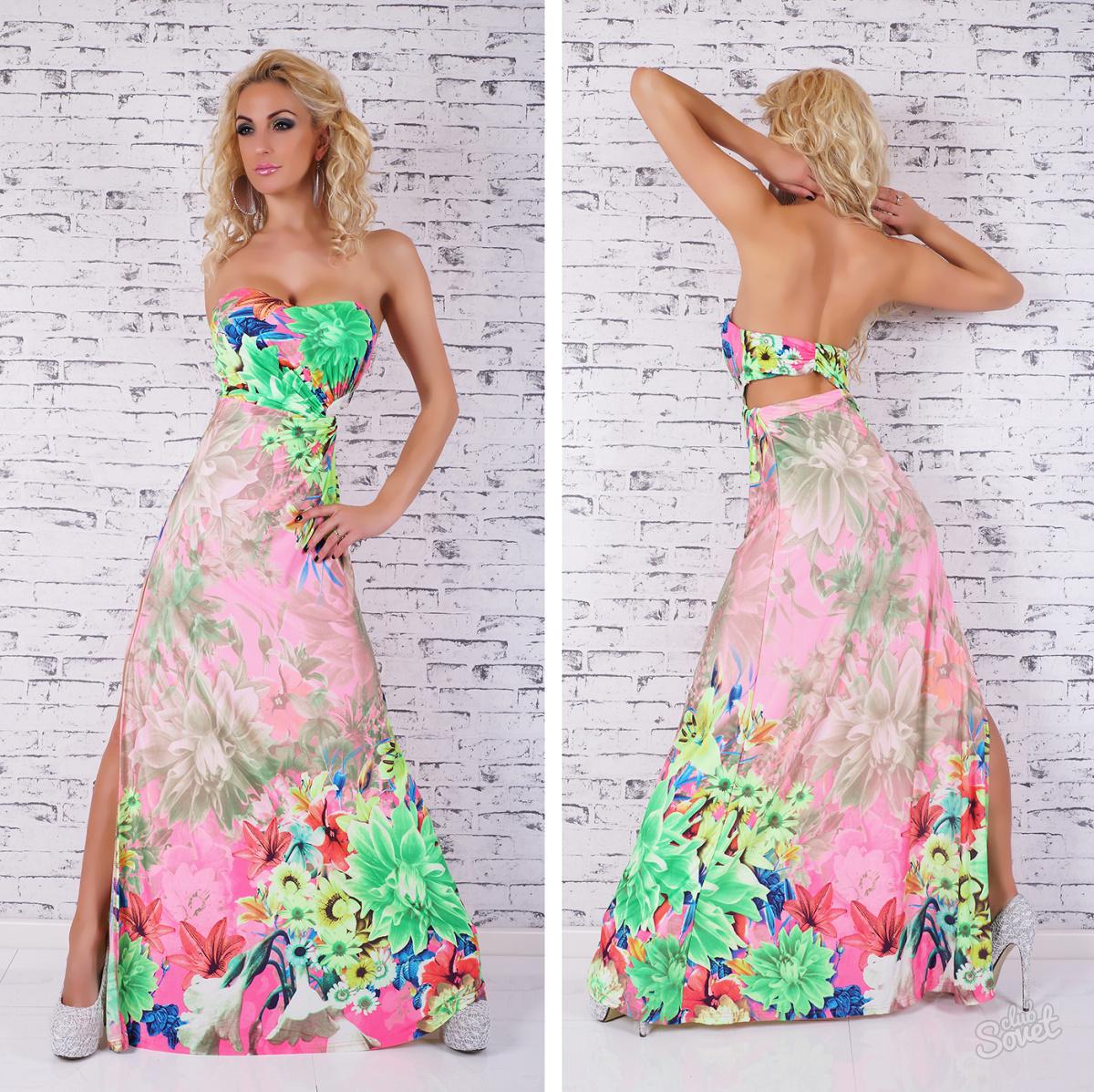 Зшити пряме довге плаття своїми руками. Як зшити плаття з трикотажу bac68be66610b