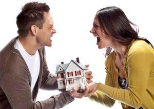 Служебное жилье при разводе супругов